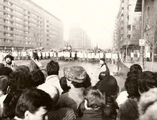 The Romanian Uprising Begins, 1989