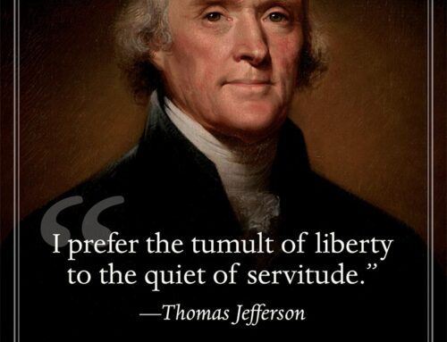 Thomas Jefferson on Liberty vs. Servitude