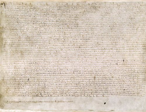 Magna Carta, AD 1215