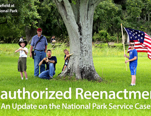 Unauthorized Reenactment? A National Park Service Update
