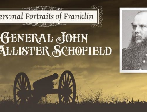 Personal Portraits of Franklin: General John McAllister Schofield