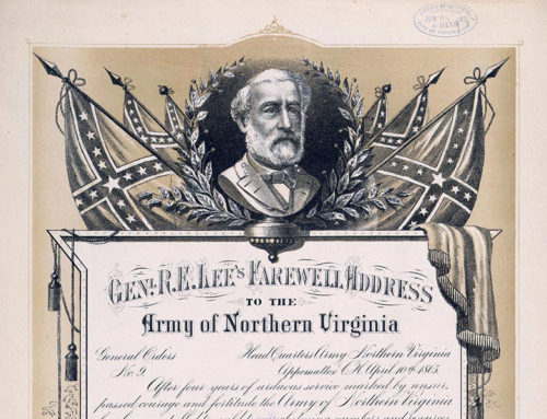 General Robert E. Lee's Farewell Address